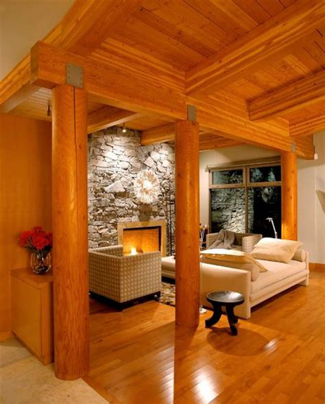 modern log home interiors log cabin interior design smalltowndjs com