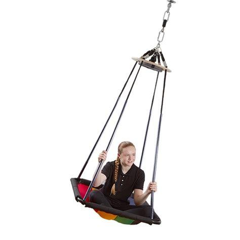 southpaw platform swing rainbow platform swing sensory integration southpaw