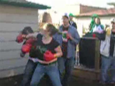 backyard boxing chicks backyard boxing at chicago s side parade party