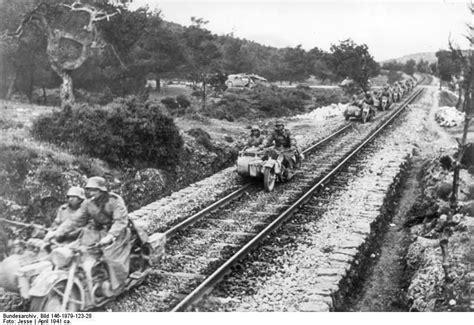 Motorrad Kaufen Griechenland by Deutsche Wehrmacht In Griechenland 1941 2 Weltkrieg