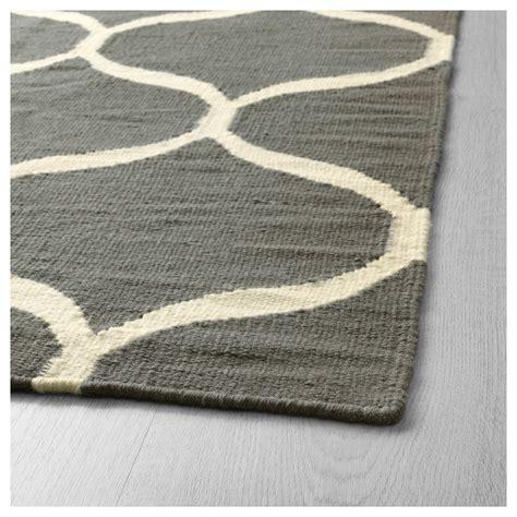 ikea rug stockholm 2017 rug flatwoven handmade net pattern grey 170x240 cm ikea