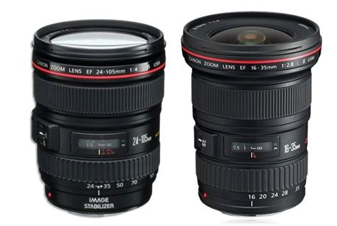 Lensa Wide Canon Ef 16 35mm F 4l Is Usm deals canon ef 24 105mm f 4l is usm for 499 and ef 16 35mm f2 8l ii for 1 099 lens rumors