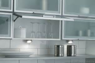 Glass Design For Kitchen Cabinets Pictures Of Kitchens Modern White Kitchen Cabinets Kitchen 13