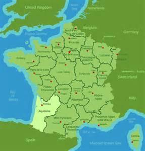 pin us southwest region map on