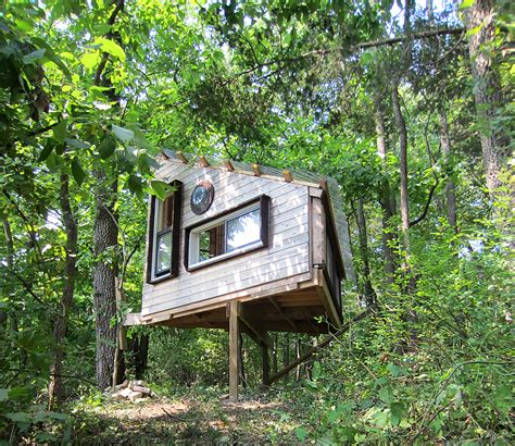tiny tree house tiny house in a landscape