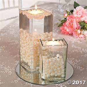 Cylinder Vase Centerpiece Ideas Easy Pearl Bead Centerpiece Idea