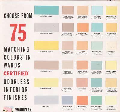 vintage color palettes on pinterest 1950s chips and retro vintage goodness 1 0 vintage decorating 1950 s paint