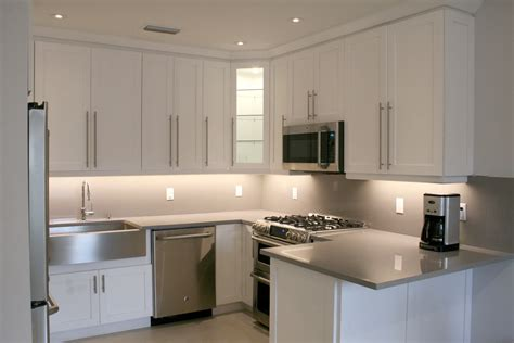 new kitchen appliances previously enclosed kitchen remodeled to modern style