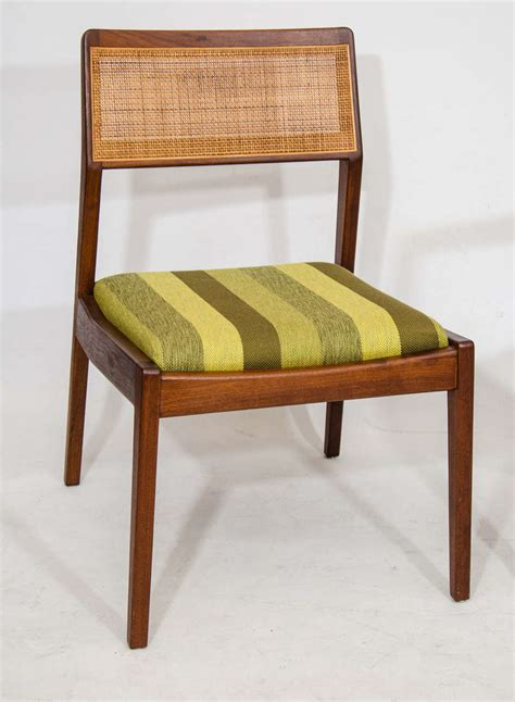 Set Of Eight Dining Chairs By Jens Risom For Sale At 1stdibs Jens Risom Dining Chairs