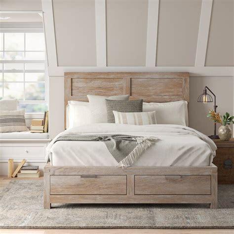 sandford platform configurable bedroom set   bed