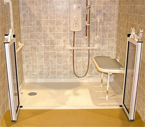 Ada Roll In Shower roll in shower handicapped ada shower traditional