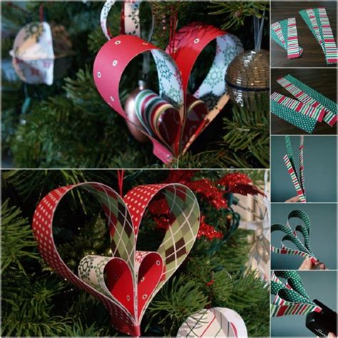 free christmas decorations to make 20 hopelessly adorable diy ornaments made from paper diy crafts