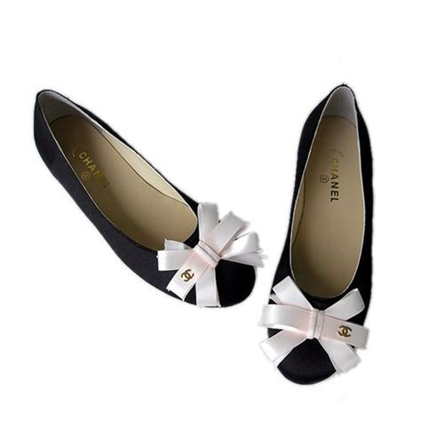 chanel shoes flat chanel bow flats shoes