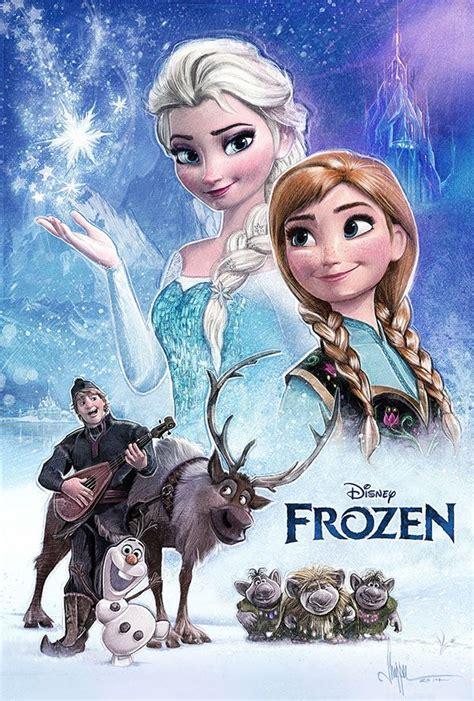 frozen film poster frozen movie poster paul shipper design movies