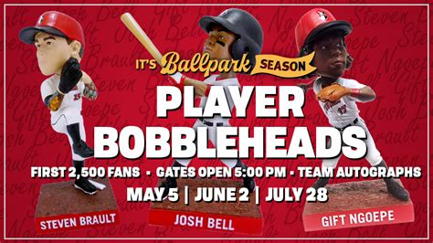 2013 bobblehead giveaways indians announce player bobblehead giveaways milb