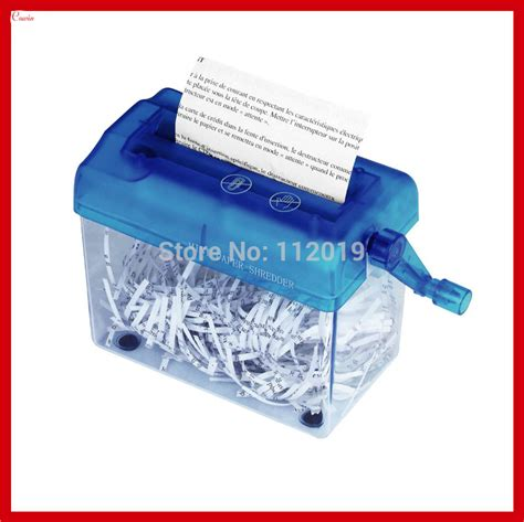 Mini Paper Shredder Manual new manual mini paper shredder home office desktop document letter mail papper cutter