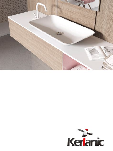 corian by dupont lavabo corian by dupont vela 70x40x10 cm blanco