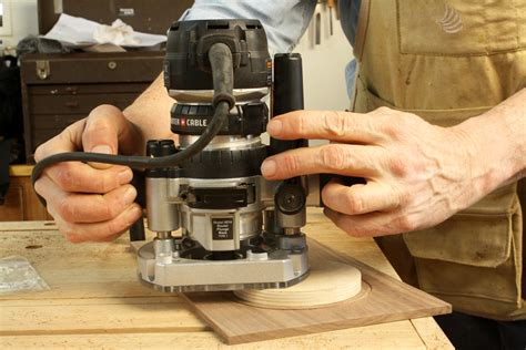 router techniques woodworking plunge router depth adjustment trick popular woodworking