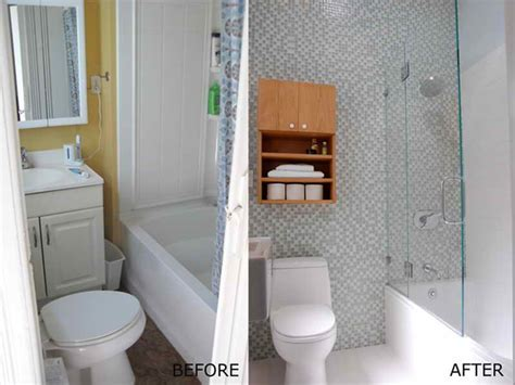 bathrooms before and after bathroom small bathroom makeover before and after small