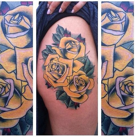 tattoo pictures of yellow roses 93 best images about tattoo on pinterest california