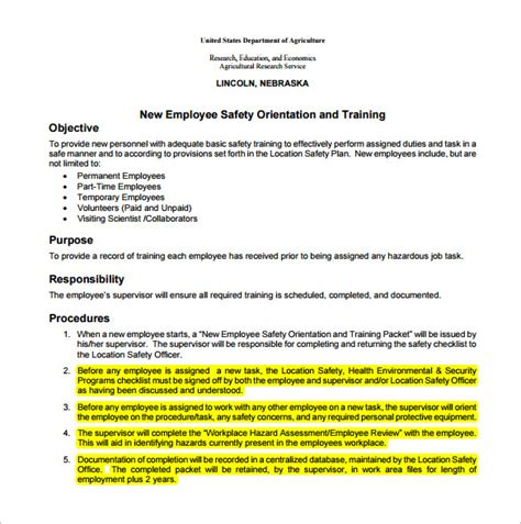 Employee Action Plan Template 14 Free Sle Exle Format Download Free Premium Templates New Employee Plan Template