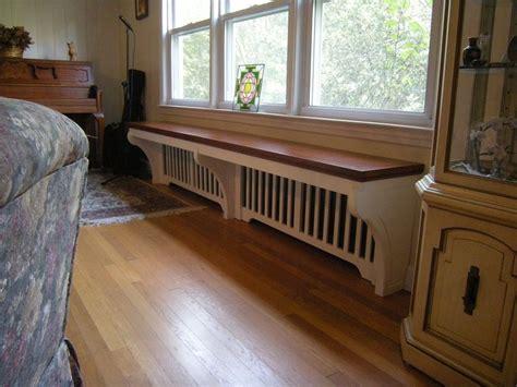 radiator window seat decorating around radiators