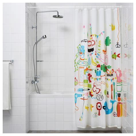ikea bathroom shower botaren shower curtain rod white 120 200 cm ikea