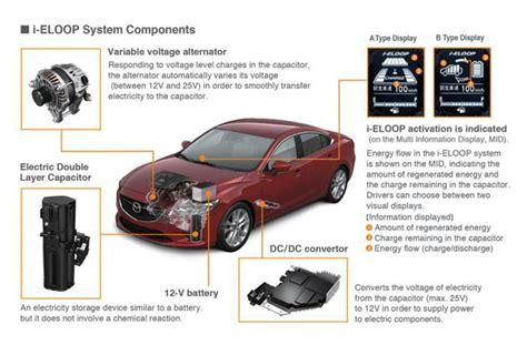 vehicle repair manual 2011 mazda mazda6 regenerative braking i eloop mazda6 coming as 2014 model