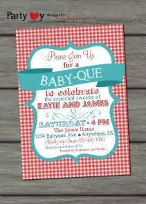 Couples Baby Shower Food Ideas - bbq baby shower invitation barbeque baby shower baby q
