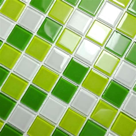 dimensional tile fresh green 3 dimensional mosaic decorative wall tile