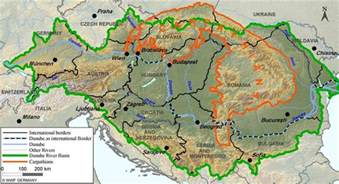 map of mountain about mountain range carpathian tours