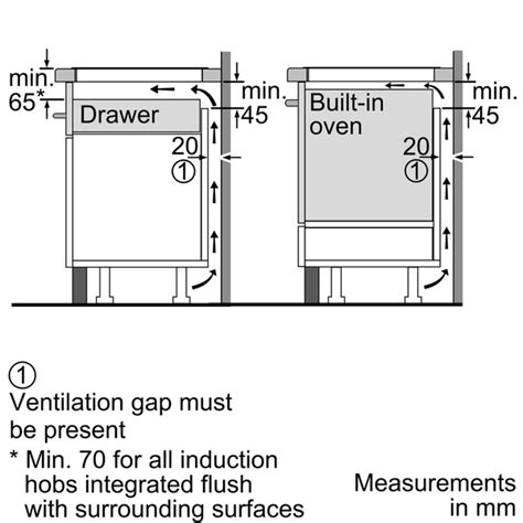 induction hob regulations induction hob clearance regulations 28 images siemens eh611fk17ebt2 iq300 60 cm induction
