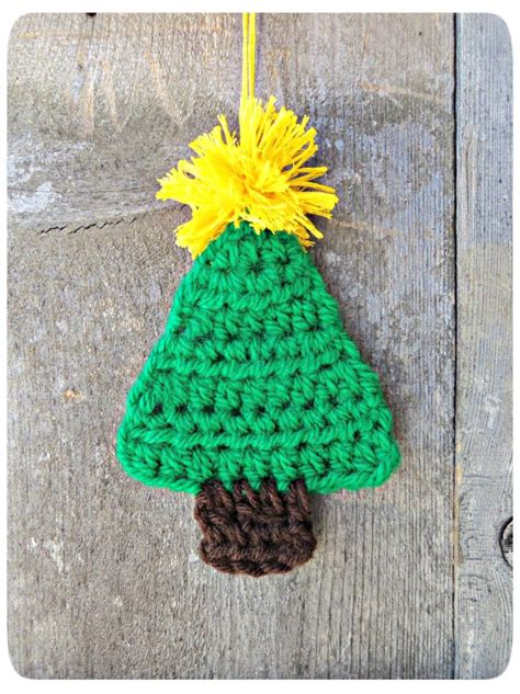 crochet christmas tree ornament christmas crafts