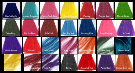 manic panic colors on hair affordable hair colourist perth hair colouring chilli