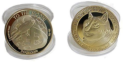 physical dogecoin collectible souvenior pack doge