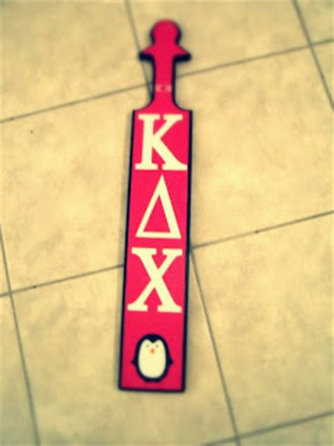 crafts and love sorority paddle