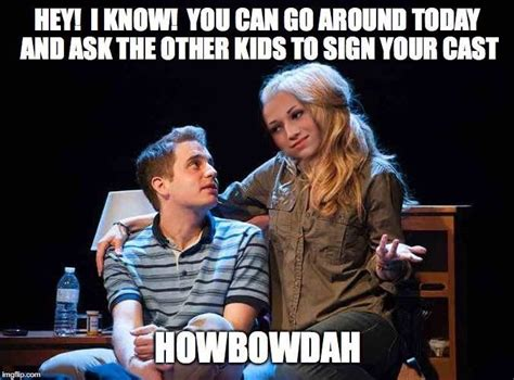 Evan Meme - 17 best images about dear evan hansen on pinterest