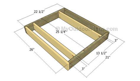sofa construction plans new build a sectional sofa frame built