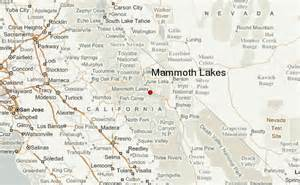 mammoth lakes california map mammoth lakes location guide