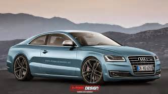 Audi A8 Coupe Audi A8 Coupe Rendering Is Promising Gtspirit