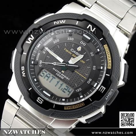Casio Thermometer buy casio sensor compass thermometer moon data sgw 500hd 1b sgw500h buy watches