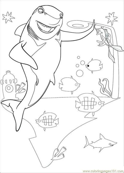 free coloring pages shark tale shark tale coloring pages az coloring pages
