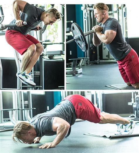 steve cook s 6 exercise chest building workout awesome