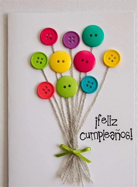 imagenes de cumpleaños que ya paso c 243 mo hacer una tarjeta de cumplea 241 os con botones