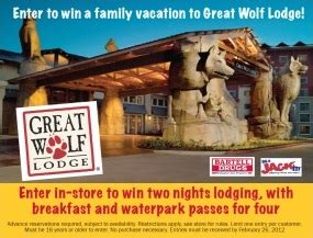 Great Wolf Lodge Sweepstakes - bartell drugs great wolf lodge sweepstakes enter in store