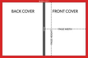 Template For Book Cover With Spine board book cover printing template explained