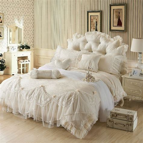 cream ruffle bedding 87 best images about bridal bedspreads on pinterest