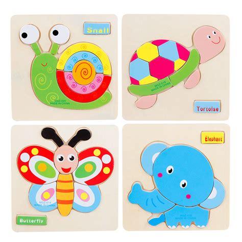 Mainan Edukatif Jigsaw Puzzle 3d Kayu Binatang Anjing animasi beli murah animasi lots from china animasi suppliers on