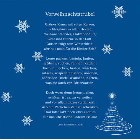 weihnachtsgedicht weihnachtsbasteln pinterest