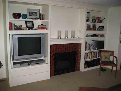 cabinets around fireplace design custom cabinets